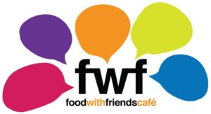 Food with Friends Café logo.