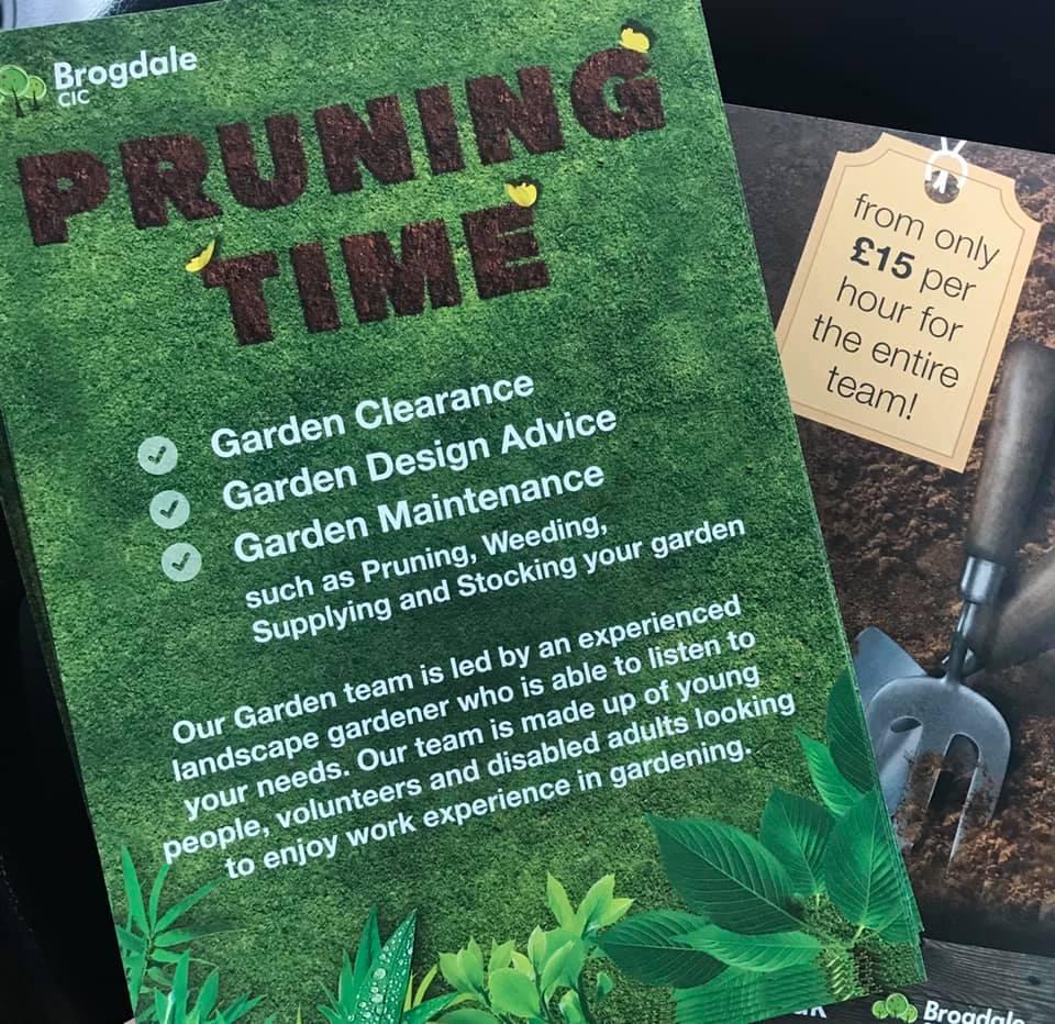 Pruning Time leaflet