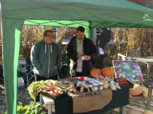 Ashley & Terry Market day